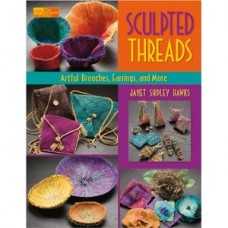 Sculpted Threads: Artful Brooches, Earrings, and More